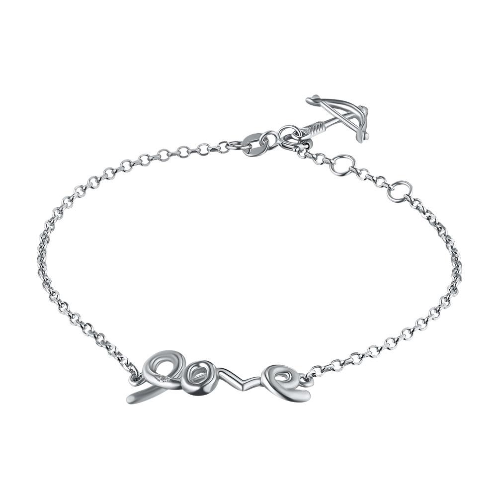 Браслет из серебра с бриллиантом э06бр051844