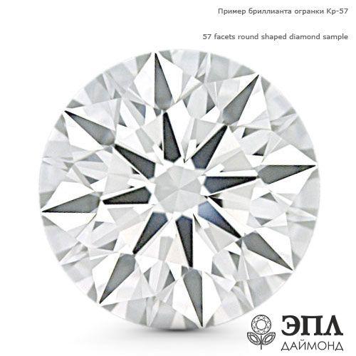 Бриллиант круг 0.012 карат ЯБ60488 фото