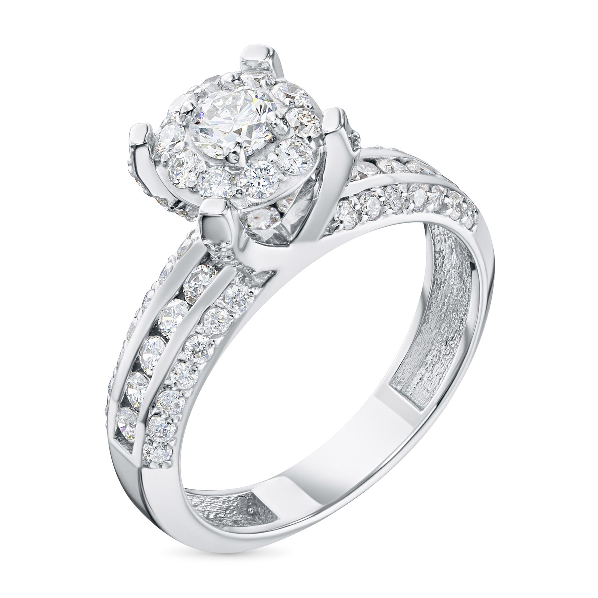 Кольцо из золота с бриллиантами э0901кц04210378