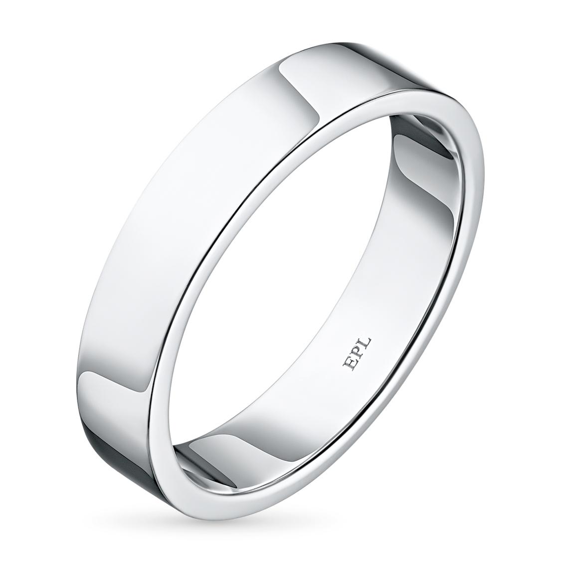 Кольцо из белого золота с бриллиантом э09к011722