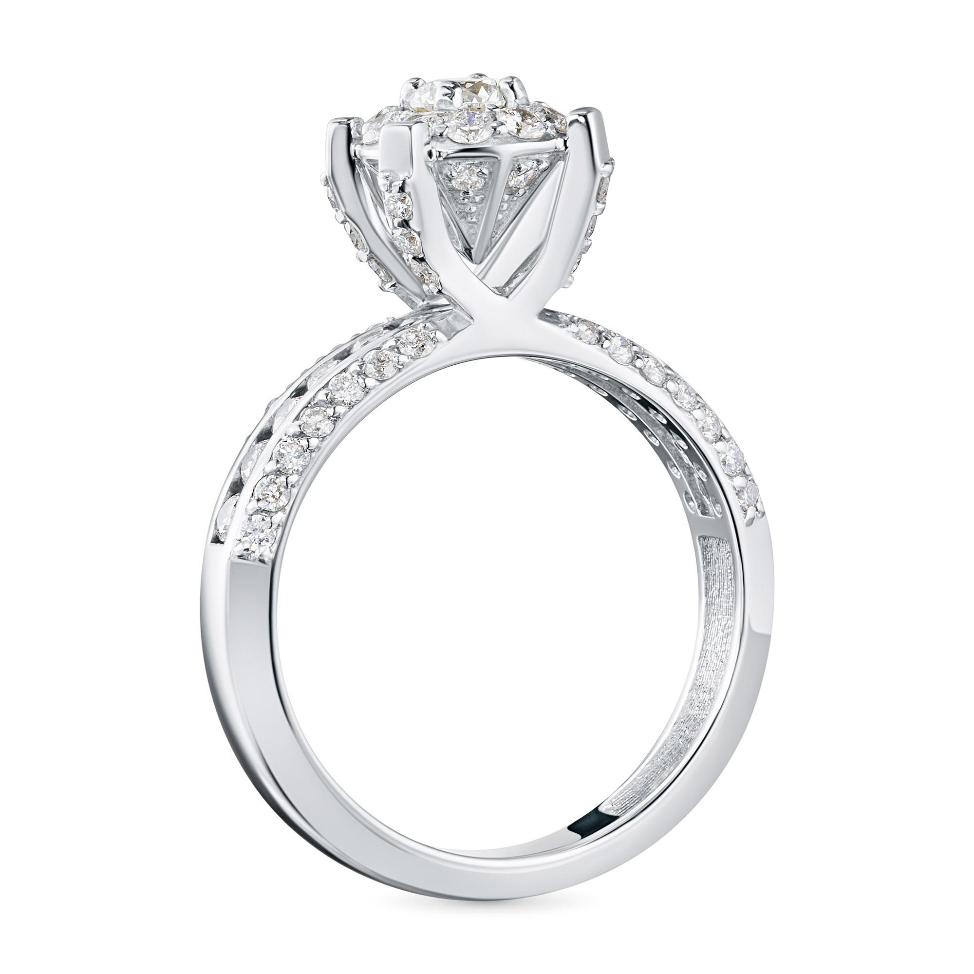 Кольцо из золота с бриллиантами э0901кц042103783