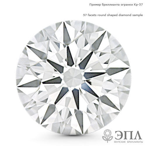 Бриллиант круг 0.010 карат ЯБ61252 фото